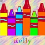 Crayons at schoolKelly