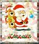 Santa with friendsTaLorraine