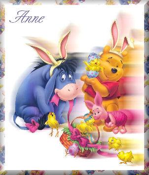 Easter Pooh gangAnne