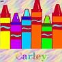 Crayons at schoolCarley