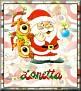 Santa with friendsTaLoretta