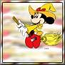 Minnie as witchT