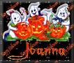 3 Ghosts & pumpkinJoanna