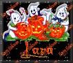 3 Ghosts & pumpkinLara