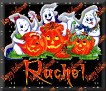 3 Ghosts & pumpkinRachel