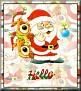 Santa with friendsTaHello