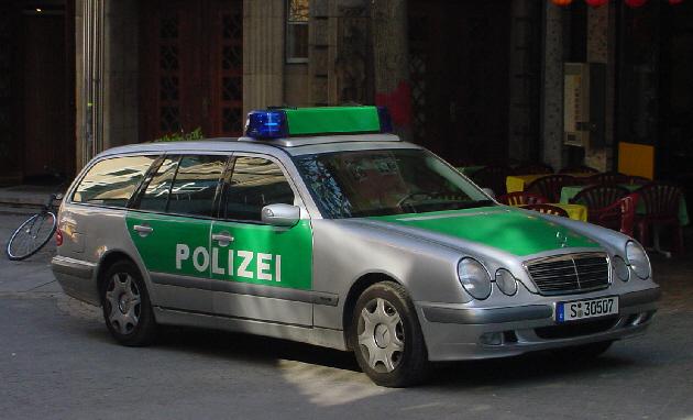Germany - Mercedes, City of Stuttgart Police Department
