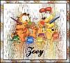 Garfield & OdieZoey