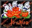3 Ghosts & pumpkinJoshua